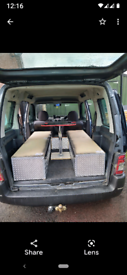 Contents of a micro camper day van suit any mpv or van