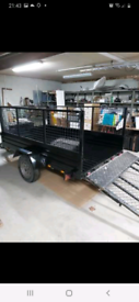 WANTED 7 X 5 OR 8 X 5 MESH TRAILER.
