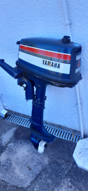 Outboard engine 4hp Yamaha 2 stroke