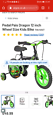 Pedal Pals 12 Inch Wheel Size Dragon Kids Bike