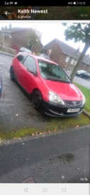 2004 Honda civic sport