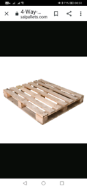 Looking for free pallets to be delivered to dennistoun baptist Church