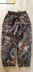 Camo jack Pyke waterproof trousers xl