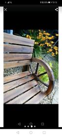 Garden bench SOLD