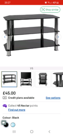 Tv Stand and nest of tables