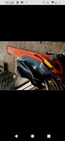 Flymo leaf blower band vacuum.