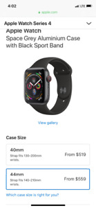 Brand New Sealed Apple Watch 44mm Gps/Cellular