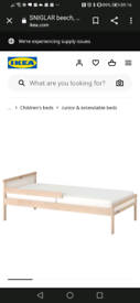 Ikea toddler bed x2