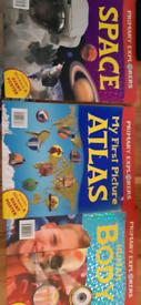 3 primary explorer books