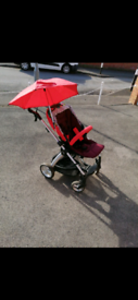 Reduced - Mamma's And Pappas Pram with cybex car seat adapters