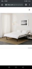 LYCKSELE LÖVÅS IKEA Folding Sofa Bed, with mattress
