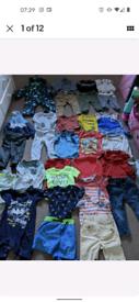 Baby Boys Clothes Bundle Size 12-18mths