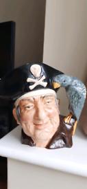 Long John Silver Large Royal Doulton Character Toby Jug