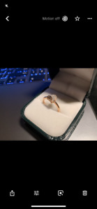 Diamond promise ring for sale