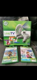 Leapfrog leap TV with games
