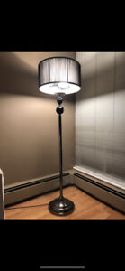 Tall modern floor lamp