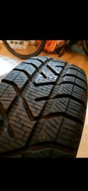 Winter Pirelli tyres 175 65 15 mini yaris corsa