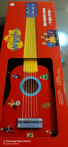 The Wiggles Kids 6 String Guitar Guitars Amps Gumtree Australia