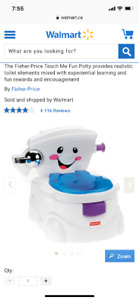Never used (brand new) Potty for sale!