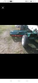 Allen national 68 triple mower