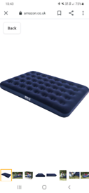 X2 double air beds
