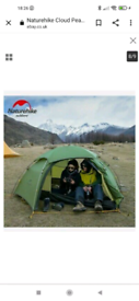 Naturehike Cloud Peak 2 Lightweight 4 season tent