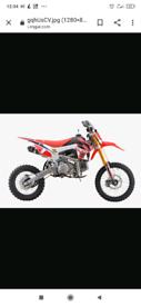pitbike dirbike crf110 frame WPB 190 2020 beast brand new !! £1050!!