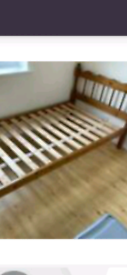 Single bed with mattress in excellent condition