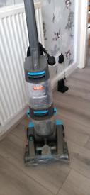 Vax carpet cleaner. Dual power pet advance plus tools.