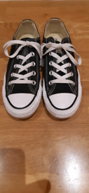 All-stars Converse trainers black size 4