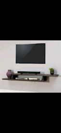 TV wall shelf