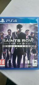 Saints Row The Third 3 Three PS4 Game