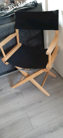 Solid wood directors chair