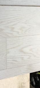 Custom Engineered hard wood, Taj-Mahal (white washed)