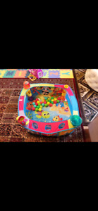 Playgro ball pit with balls
