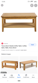 Wanted rectangular coffee tables