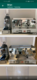 Coffee Machine Commercial plus Grinder