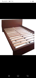 Ikea double bed frame in great condition