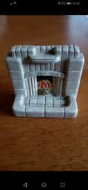 Dolls house fireplace 50,60's style