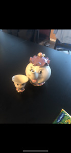Mrs. potts and chip tea set - beauty and the beast