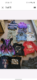 Girls Clothes Bundle Age8-9/9-10years.
