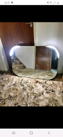 Large LED Demist mirror