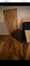 AOK dining table and 4 chairs
