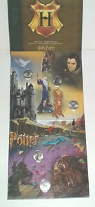 Harry Potter Reelcoinz Collector Board plus all 12 Medallions London Ontario image 1
