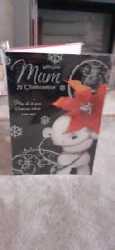 Extra large mum xmas card