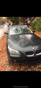 BMW 530i 2005 À VENDRE  3000$ - AUBAINE