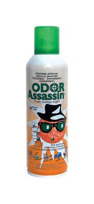 NEW! ODOR ASSASSIN Odor Eliminator Orange Scent 6 oz.  124947