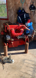 Mint little diesel ford 4 cyl low hrs 80-85 HP