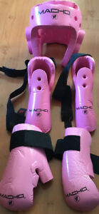 Karate Sparring Gear youth pink