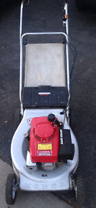 tondeuse HONDA HRA214 traction heavy duty lawn mower easy start
